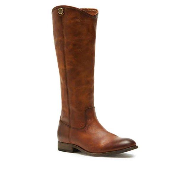 Frye Women's Melissa Boots in Cognac Size 6